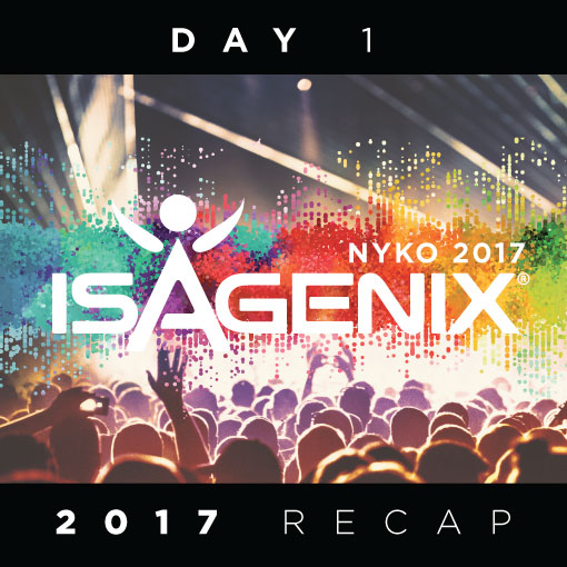 See What Happened On Day 1 Day 2 At 2017 Nyko Isagenix News