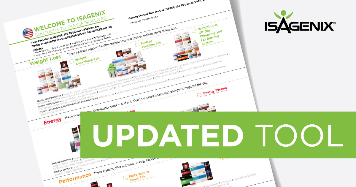 New Member Form Better Than Ever Isagenix News Isafyi Com
