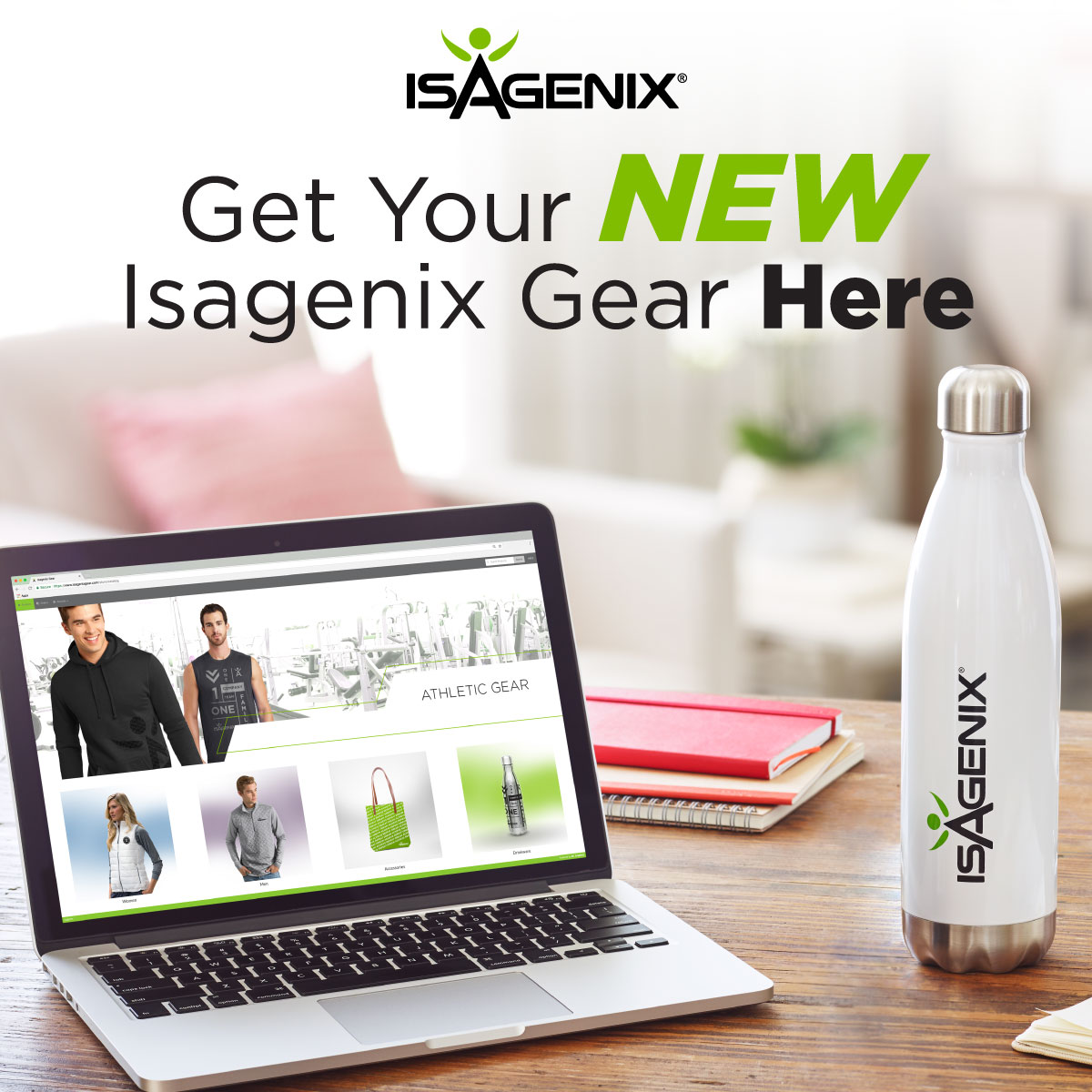New Clothing and Accessories at IsagenixGear.com