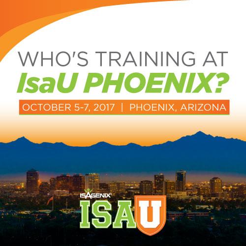IsaU Phoenix 2017: Oct. 5-7