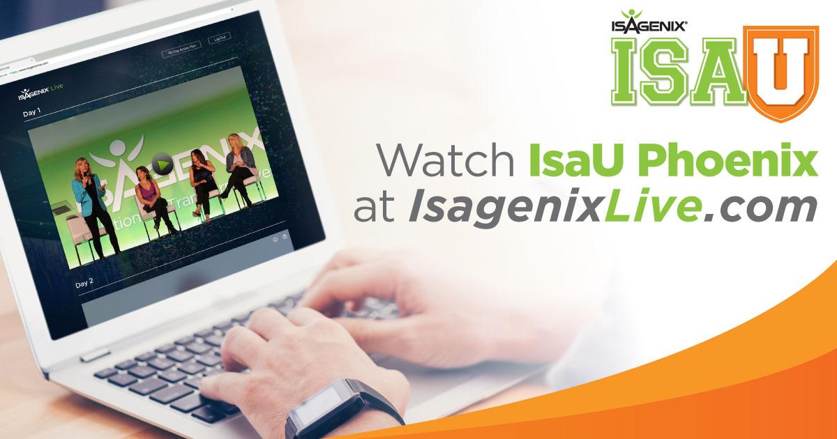 IsaU Phoenix watch it live