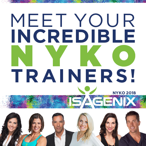 meet your nyko 2018 trainers