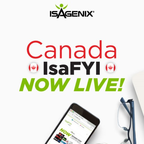 Canada IsaFYI Launch