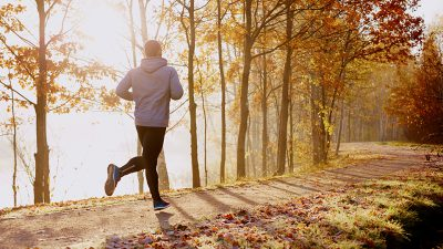 stay in shape with a run