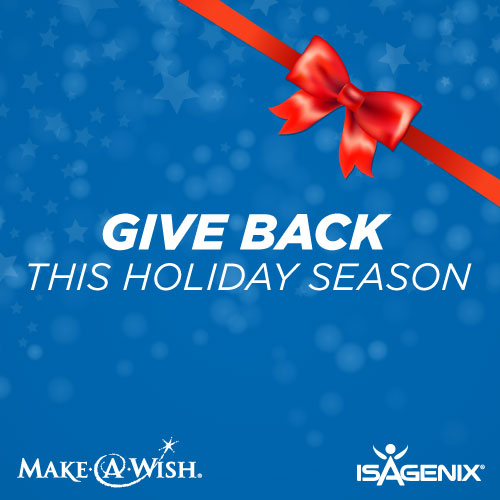 give back to make a wish this holiday season