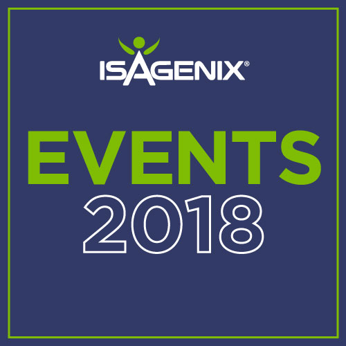 Isagenix Events 2018