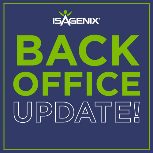 Welcome to Isagenix! You're the one we've been waiting for! Isagenix is your opportunity for health, wealth and happiness.