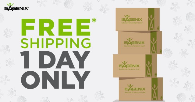 Free Shipping December 26th