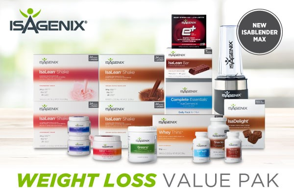 More VALUE in the Weight Loss Value Pak!