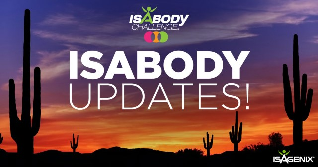 IsaBody Updates