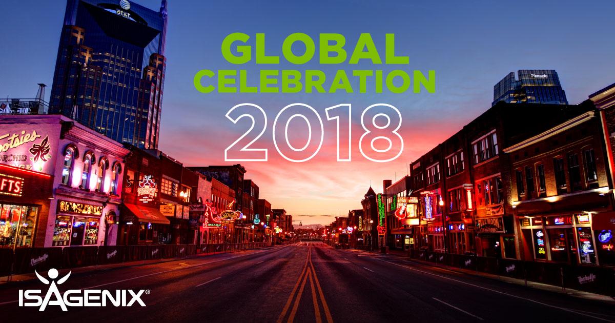 Isagenix Global Celebration 2018 in Nashville, TN