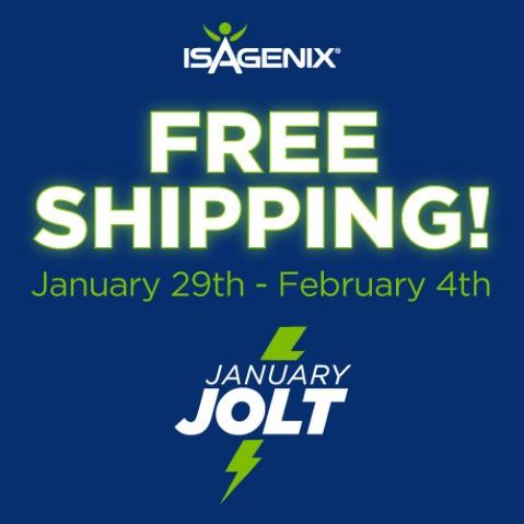 Free Shipping Jan 29-Feb 4