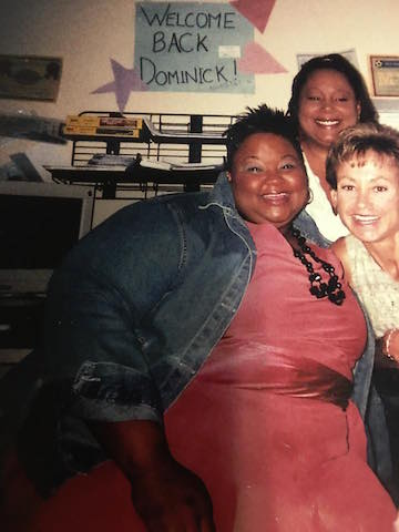Kenya LeShelle before photo - Isagenix Customers Lost HALF Their Size