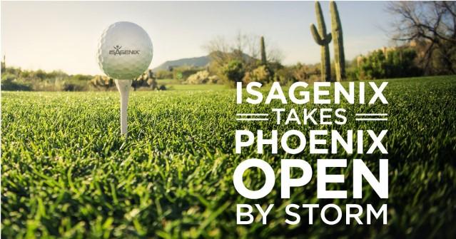 Isagenix Takes Phoenix Open By Storm