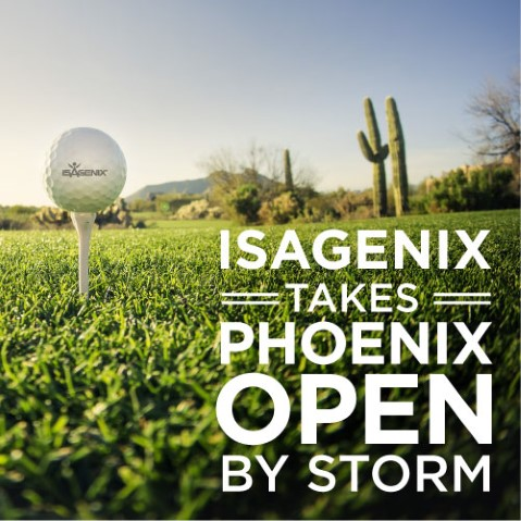 Isagenix Takes Phoenix Open By Storm
