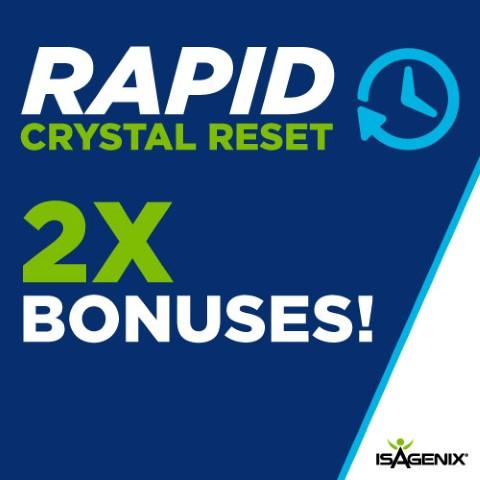 Rapid Crystal Reset