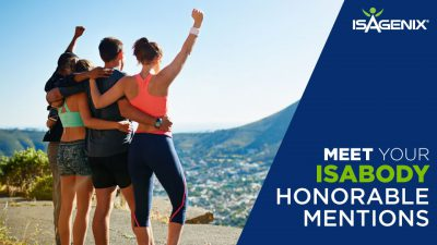 The Isagenix IsaBody Challenge Honorable Mentions