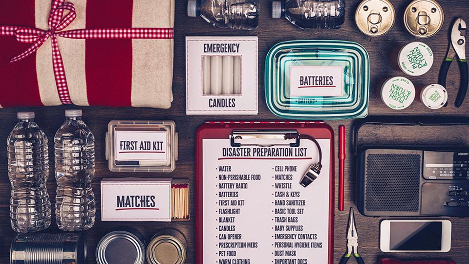 natural disaster prepared kit