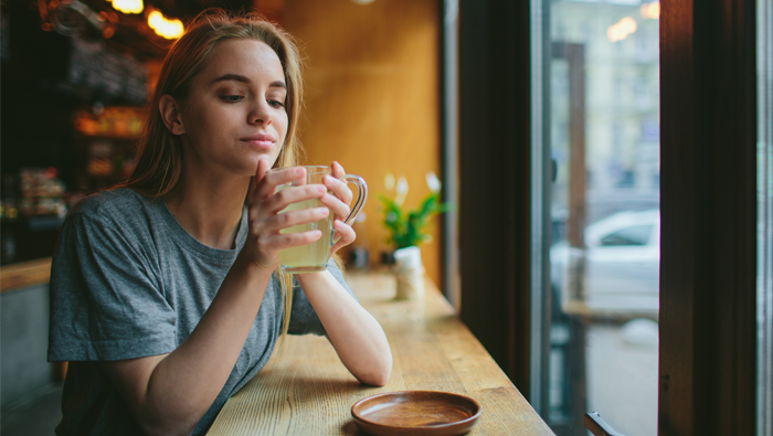 Try tea instead of coffee.