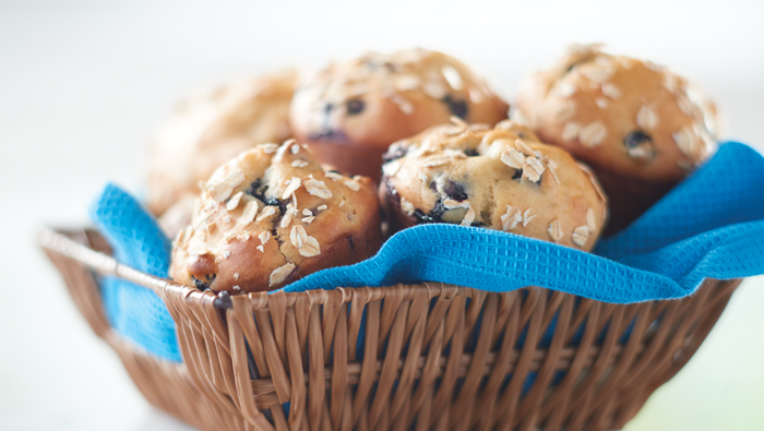 Blueberry Oat Muffins You Must Try!