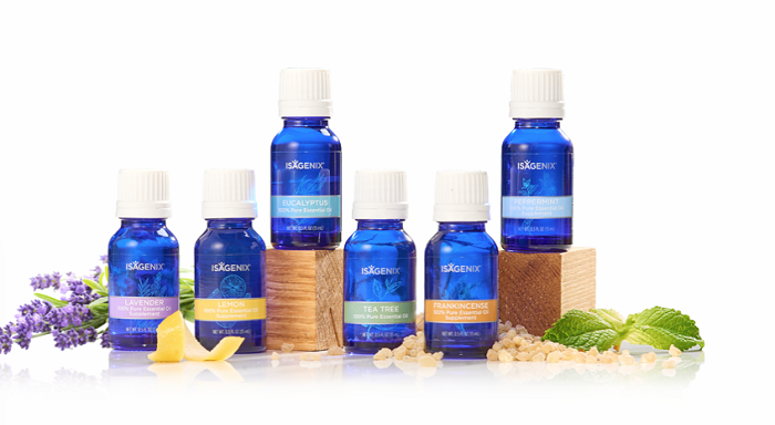 Collection of Essence by Isagenix Essential Oil.