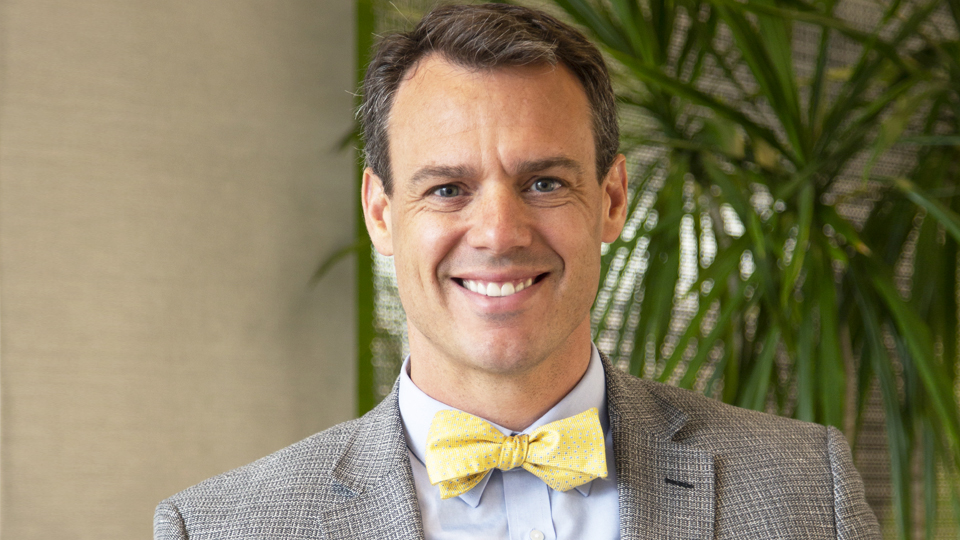 A headshot of Joshua Plant, Ph.D., the new chief science officer at Isagenix