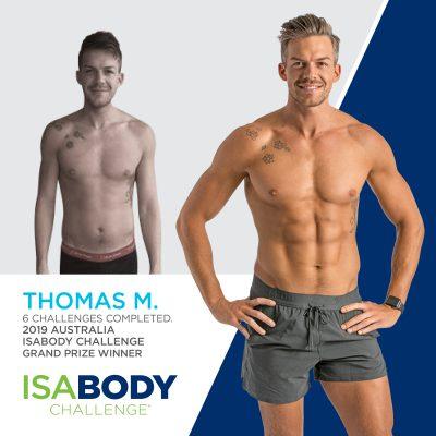 Australia Finalist Thomas M.