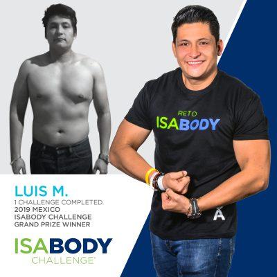 Mexico IsaBody Finalist Luis M.