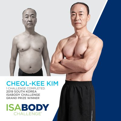 South Korea IsaBody Finalist Cheol-Kee K.