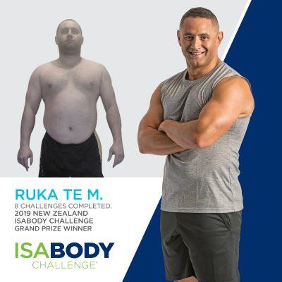 New Zealand Finalist Ruka Te M.