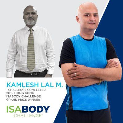 Hong Kong Finalist Kamlesh Lal M.