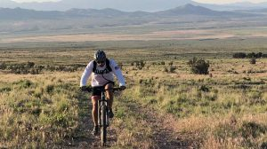 Brent Shaw mountain biking