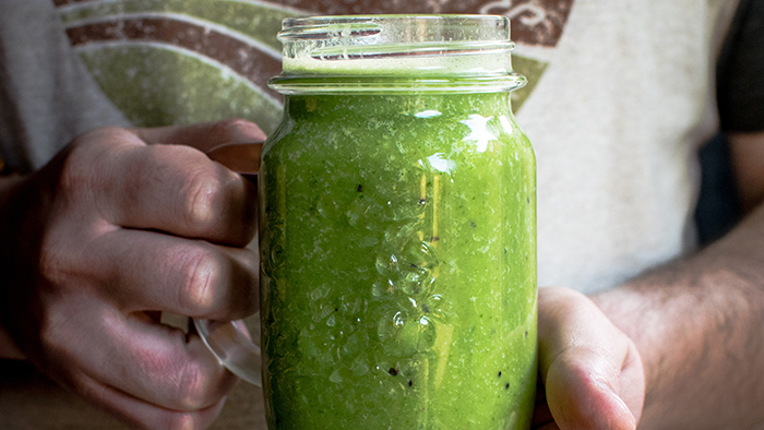 Greens smoothie drink