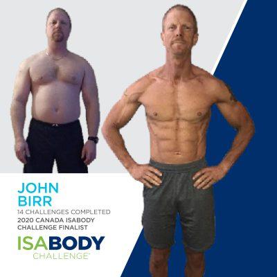 John Birr before and progress photos