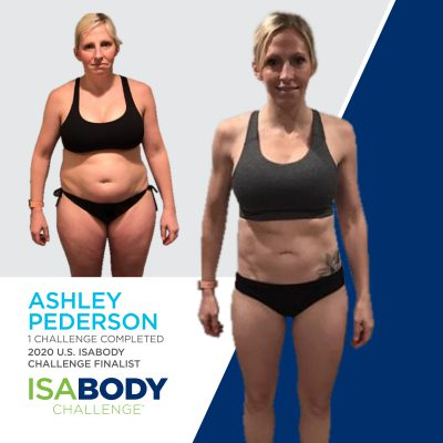 Ashley Pederson before and progress photos