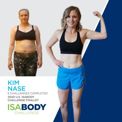 Kim Nase before and progress photos