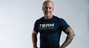 Scott St. John representing Team Isagenix