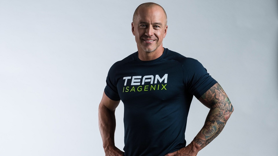 Scott St. John representing Team Isagenix