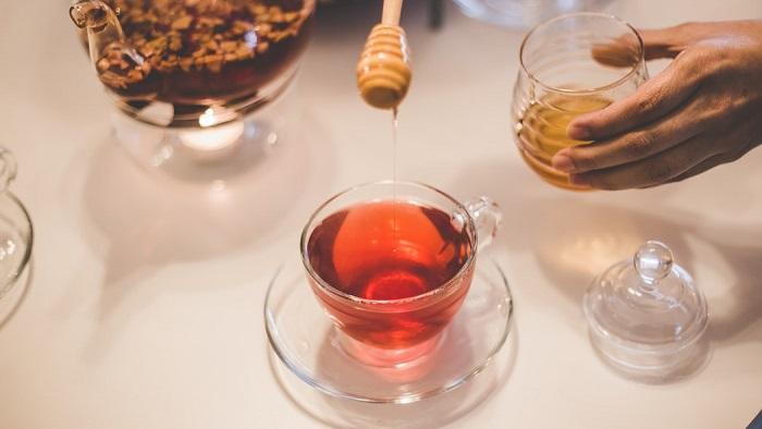 Tea with honey