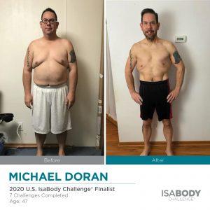 Before & After Michael Doran