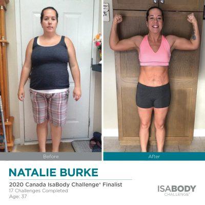 Before & After Natalie Burke