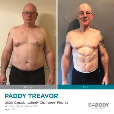 Before & After Paddy Treavor