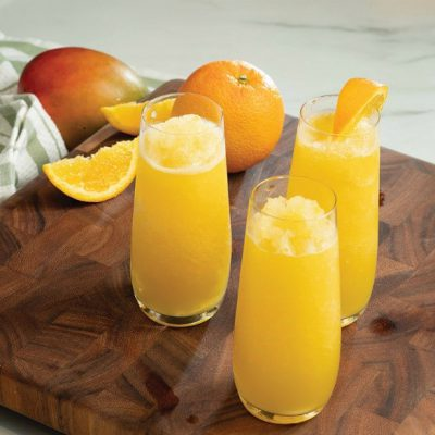 Mango Mimosa BĒA slushie