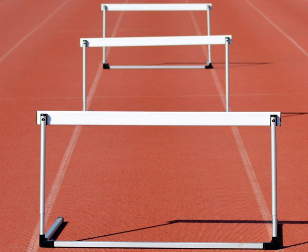 Hurdles on track