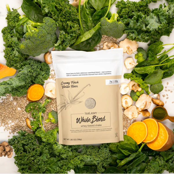 Whole foods - Whole Blend IsaLean Shake bag with raw ingredients
