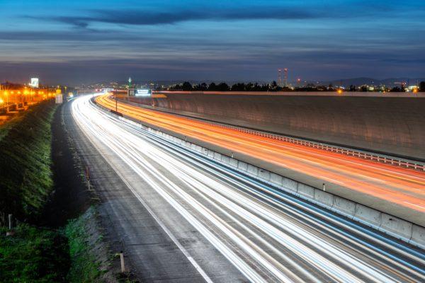 Lights on the Autobahn