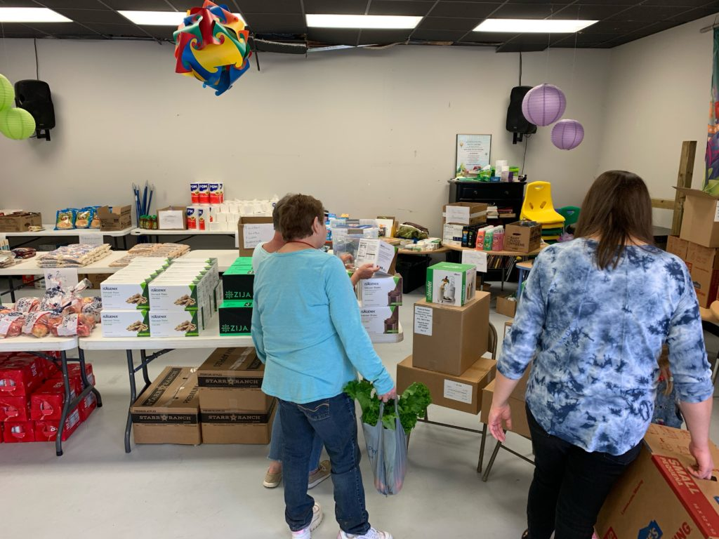 Volunteers working with the Disaster Services Corporation – Society of St. Vincent de Paul USA