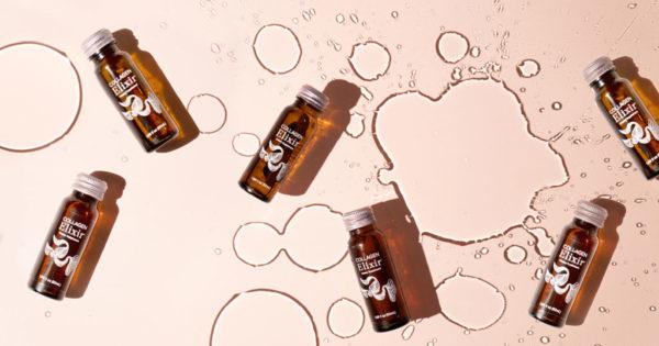 Bottles of Isagenix Collagen Elixir